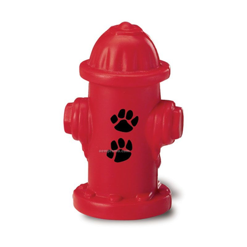Fire Hydrant Squeeze Toy