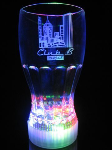 LED Fountain Cola Pilsner Glass