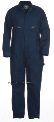 """Red Cotton Twill Deluxe Unlined Coverall (T) (56""""-62"""" Chest)"""