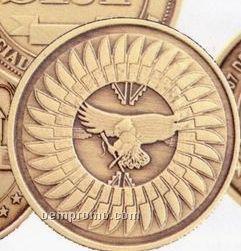 """1"""" Bright Bronze 14 Gauge Die Struck Coins & Medallions"""