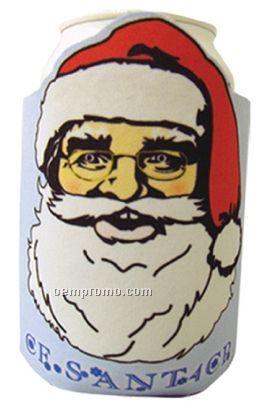 Crazy Frio Beverage Holder - Santa