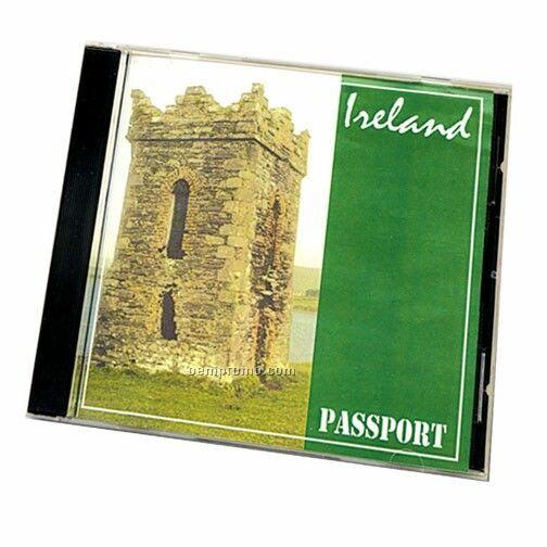 Ireland Passport Travel Music CD