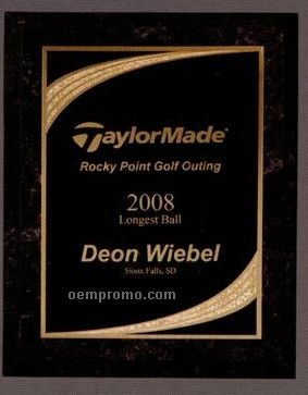 """Marble Finish Plaque W/ Majestic Plate (8""""X10"""")"""