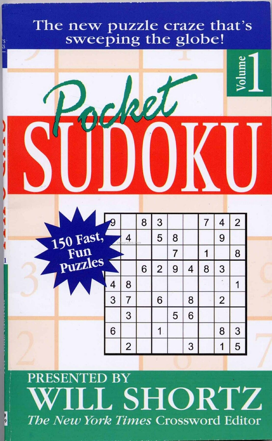 Pocket Sudoku Puzzle Book