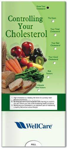 Controlling Your Cholesterol - Pocket Slider Chart/ Brochure