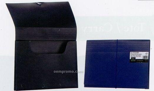 Dark Blue Pocket Legal Size Expansion File