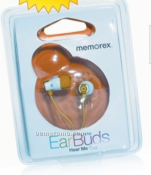 Memorex In-ear Nano Color Earbuds