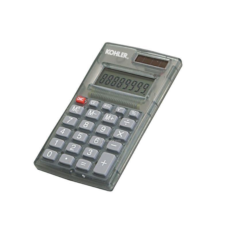 Mini Desk Calculator W/Battery & Solar Power
