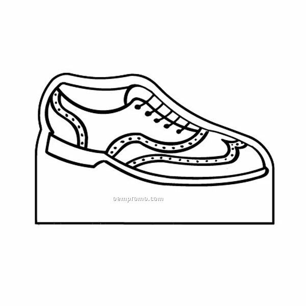 Stock Shape Shoe On Box Recycled Magnet