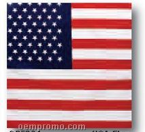 American Flag 100% Cotton Imported Bandanna