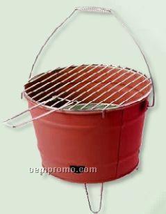 Bucket Bbq Grill