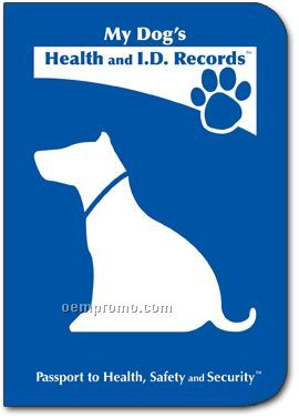 My Dog's Health And I.d. Records Passport