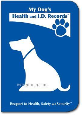 Dog health record organizer