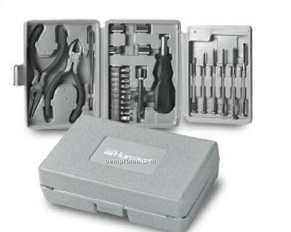 25 Piece Tri Fold Tool Kit (Printed)