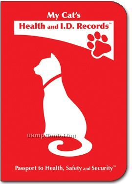 My Cat's Health And I.d. Records Passport