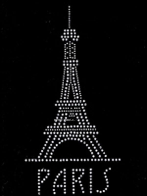 Paris Rhinestone Transfer