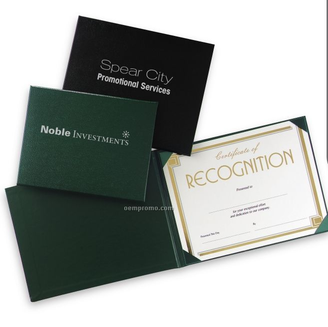 """Vicuna Certificate & Diploma Covers (8""""X10"""")"""