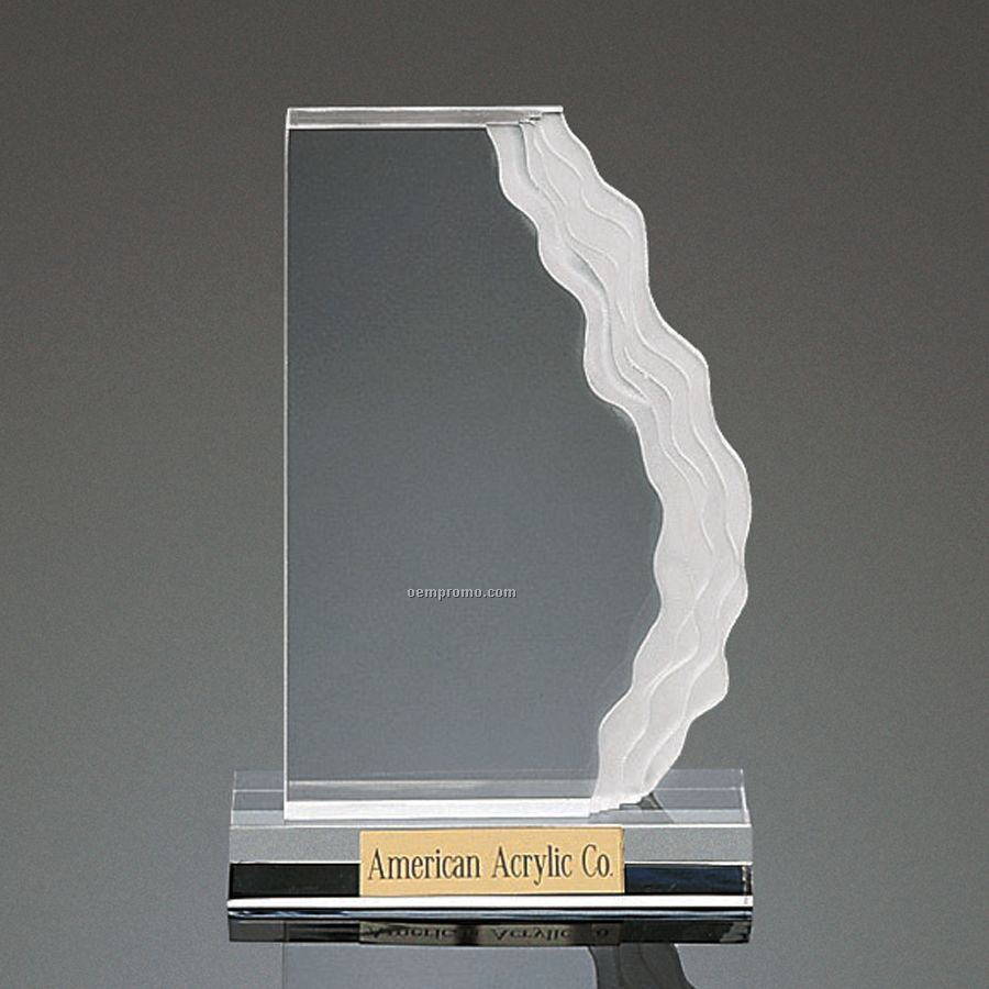 Clear Wave-length Award - Vertical Mount