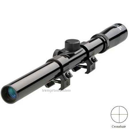 Tasco Rimfire Riflescope 4x15mm Black Gloss Crosshair Ret