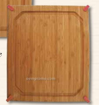 """13"""" Red Grippy Groove Cutting Board"""