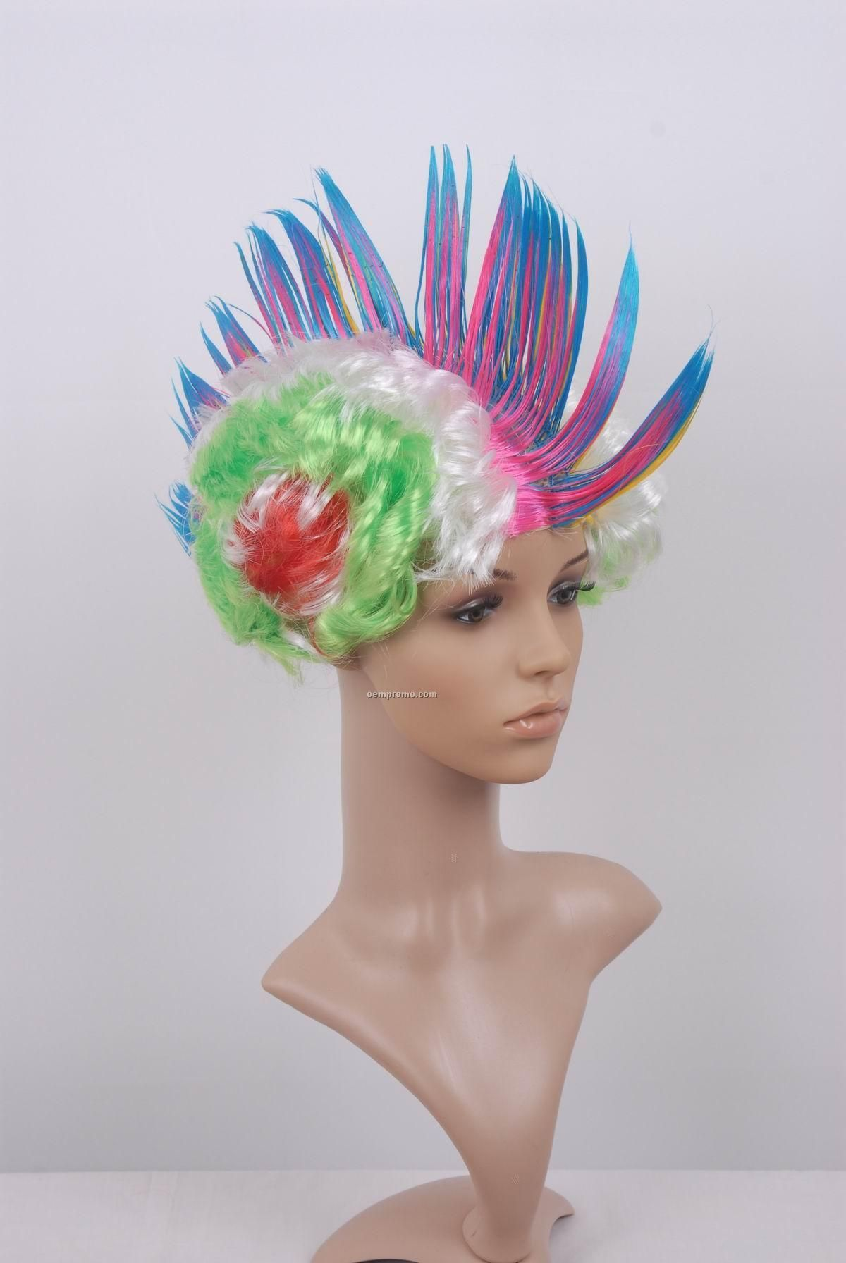 Cockscomb Party Wigs