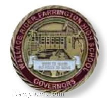 """Die Cast Alloy Injection Medallion (2"""")"""