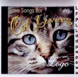 Love Songs For Cat Lovers Music CD