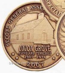 """1-9/16"""" Bright Bronze 12 Ga. Die Struck Coins & Medallions"""