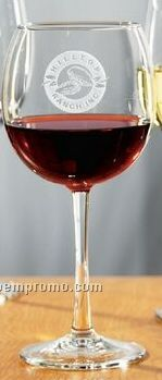 16 Oz. Selection Red Wine Glass (Set Of 2 - Deep Etch)
