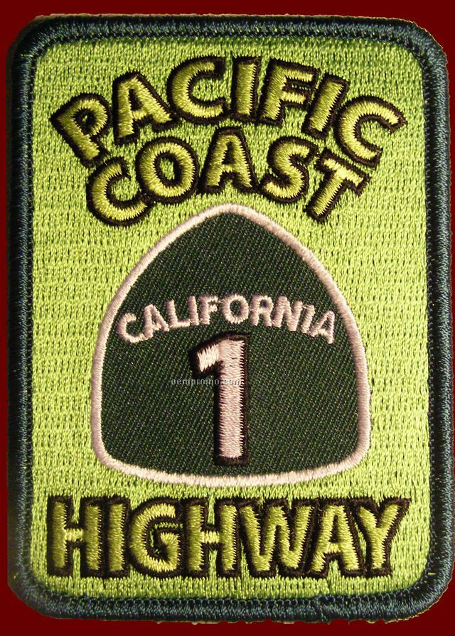 """Embroidered Patch (3-1/2"""")"""