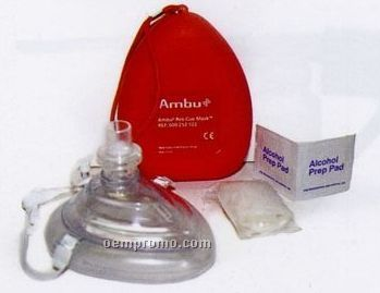 Ambu Cpr Mask With 02 Inlet