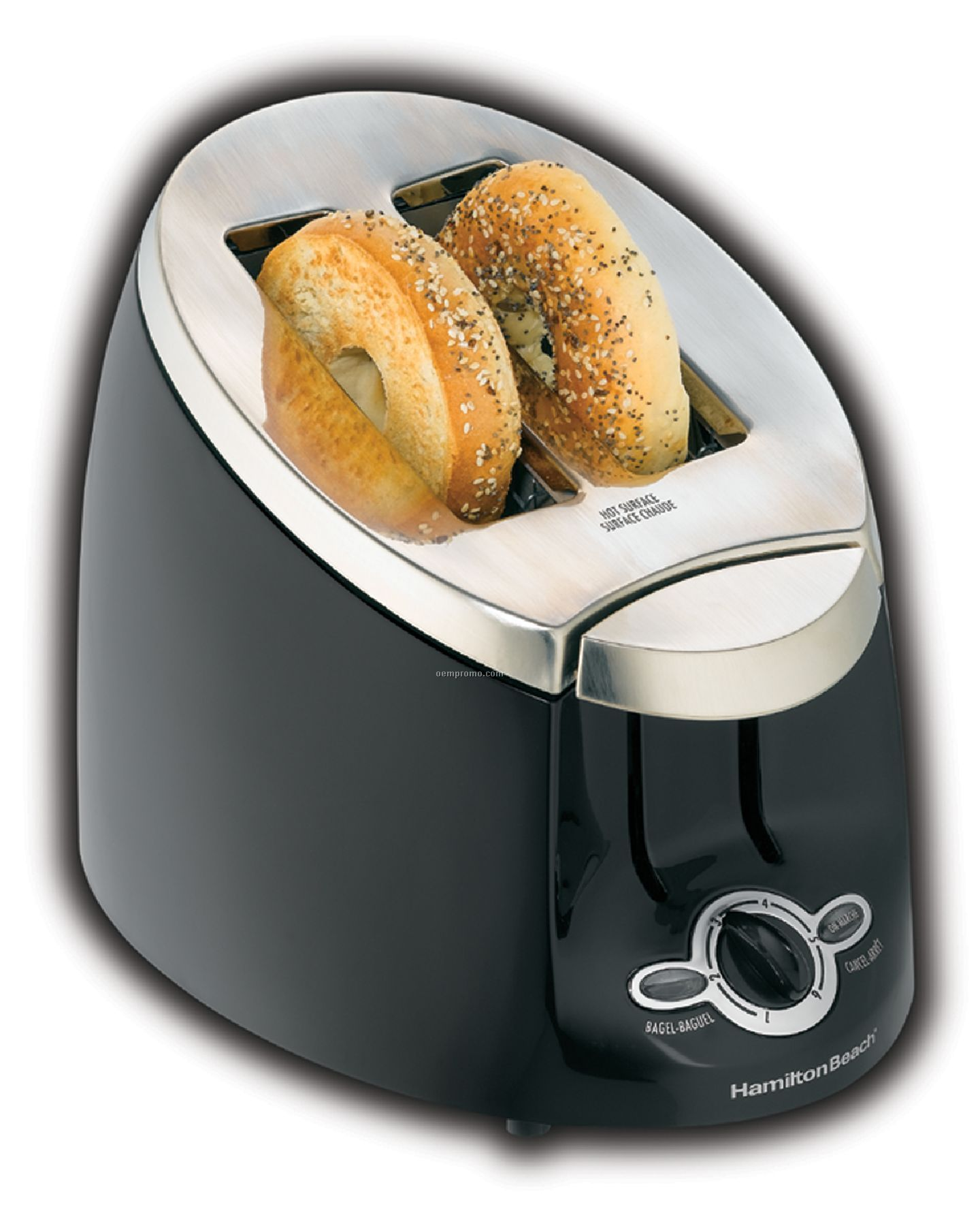 Hamilton Beach - Toasters - Ensemble 2 Slice - Black
