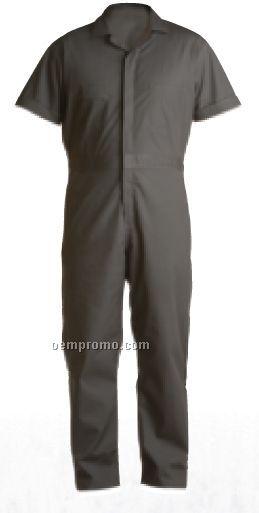 Poplin Short Sleeve Coverall (Short) (S-2x)