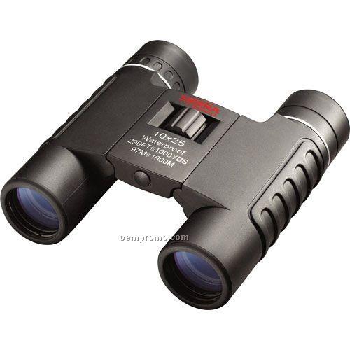 Tasco Tasco Sierra 10x25mm Black Roof Prism Wp, Fp, Compact