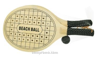 The Waikiki Paddle Ball Set (Direct Import-10 Weeks Ocean)