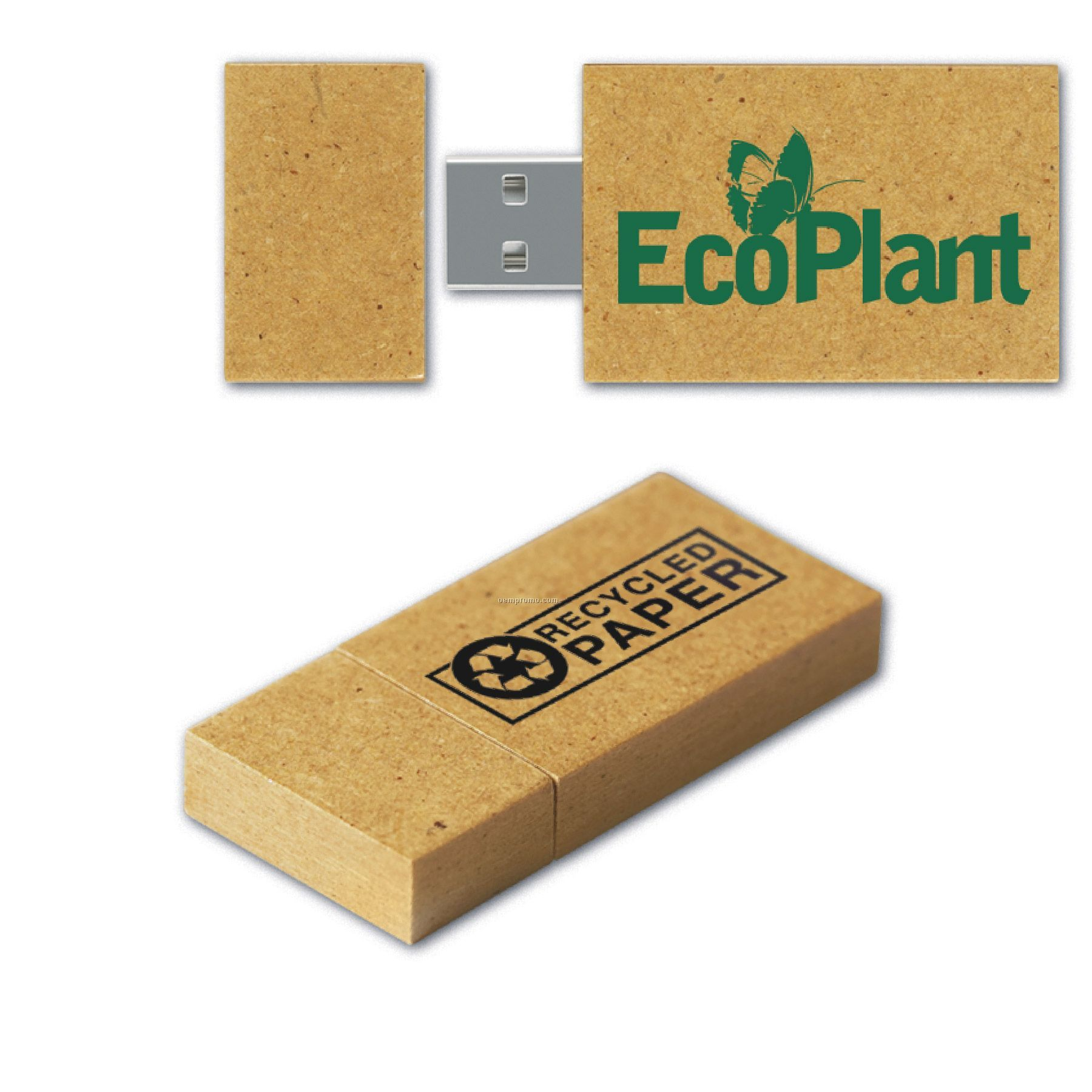 USB 2.o Recycled Paper Drive Gp