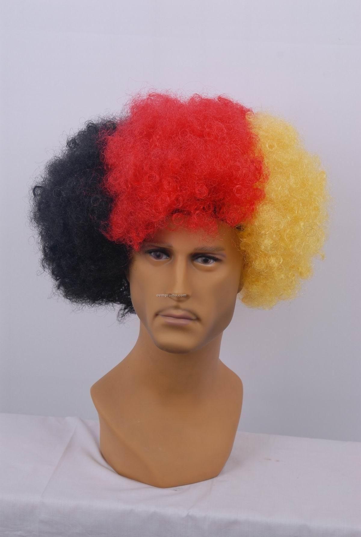 Boom Football Fans' Wigs