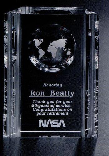 "Global Gallery Crystal Capricorn Global Award (6"")"