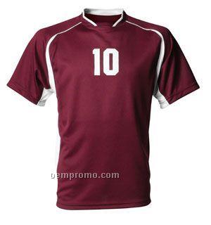 Nb3161 Power Mesh Youth Soccer Top