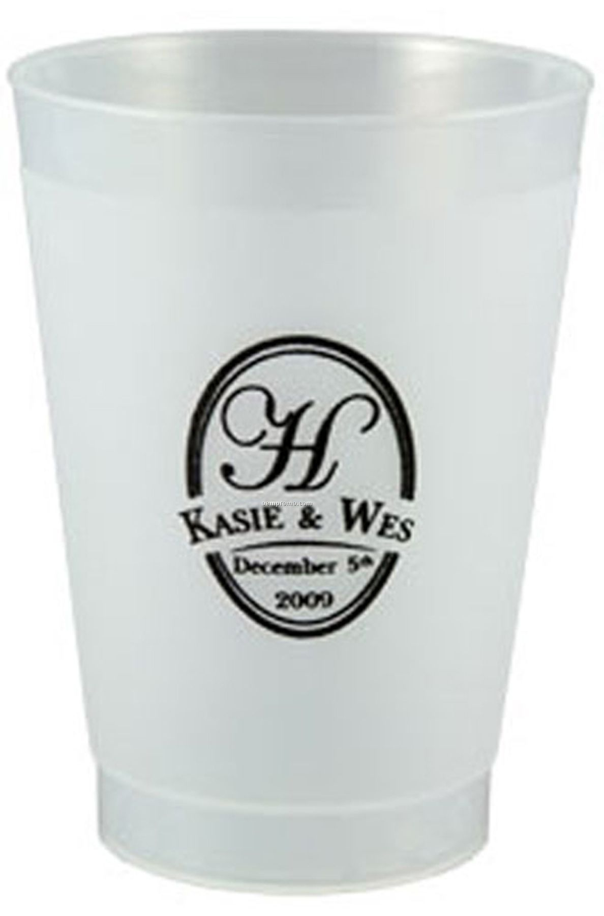 "Reusable Frost Flex Tumbler Cup (2-3/4""X3-3/4"")"