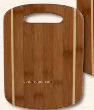 2 Piece Stripe Cutting Board Set
