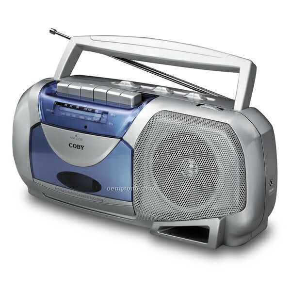 AM/FM Mono Portable Cassette Player/Recorder