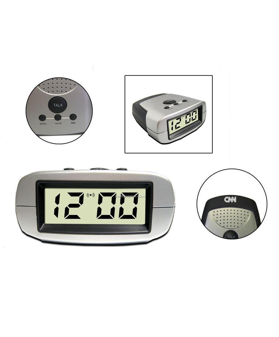 Digital Talking Alarm Clock