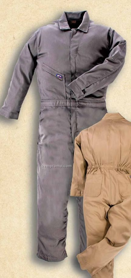Flame Resistant 100% Cotton Coverall (7 Oz.)
