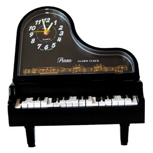 Baby Grand Piano Musical Alarm Clock