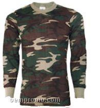 Men's Camouflage Thermal Underwear Shirt (3xl)