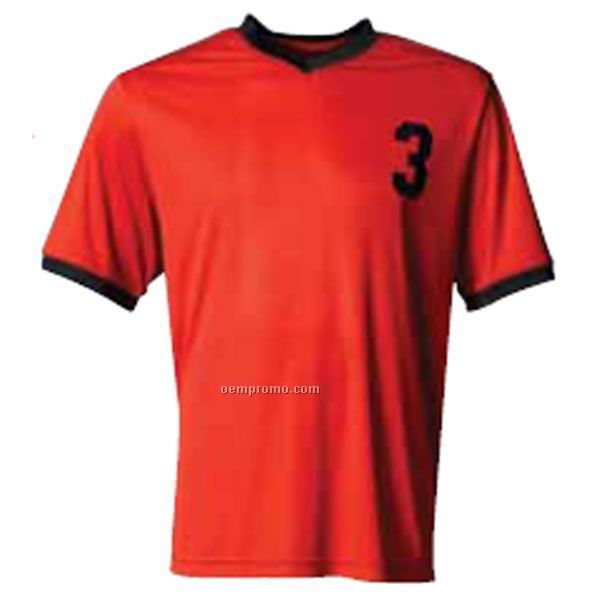 Nb3178 Youth V-neck Soccer Jersey