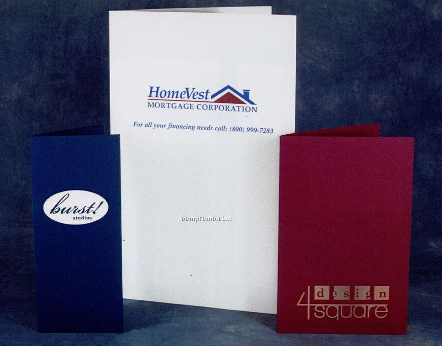 "Style Y Designer Paper Mini Pocket Folder (5""X10"")"