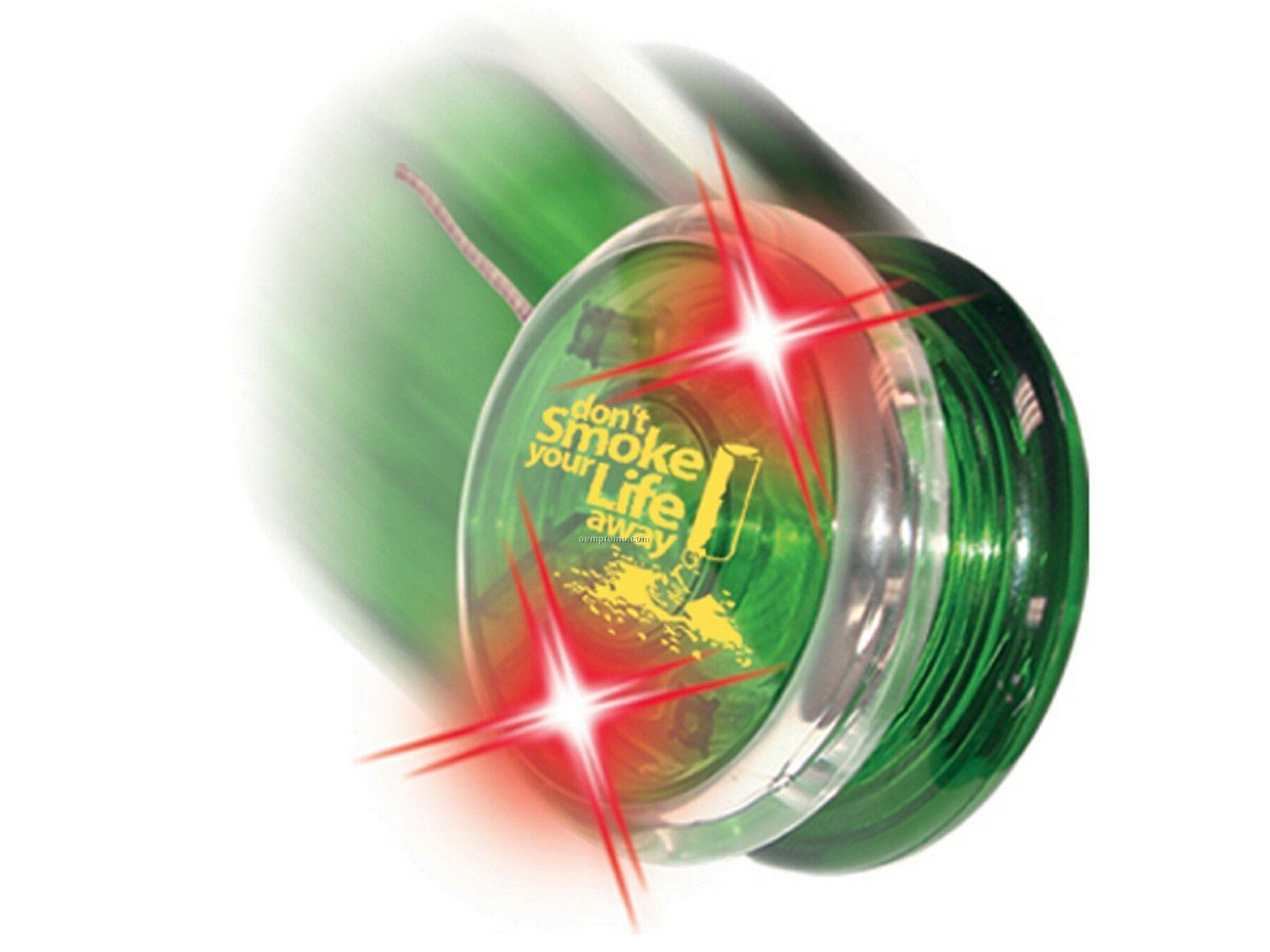 Twirlglo Yo-yo - Green/Red LED