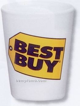 1-1/2 Oz. Decal Collector Cup / Ceramic Shot